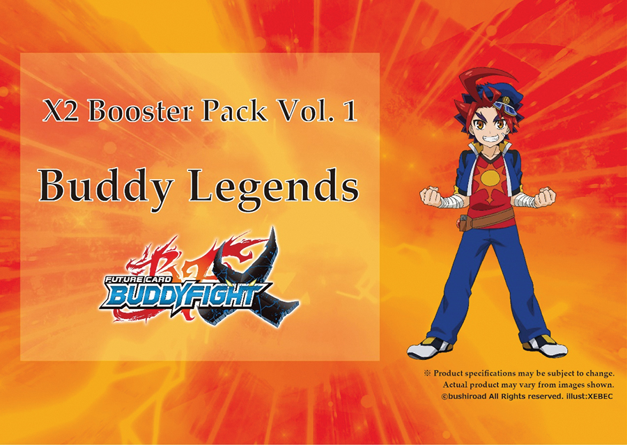 Future Card Buddyfight Tcg: Buddy Legends Booster Diplay (30) Box Front