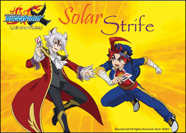 Future Card Buddyfight Tcg: X2 Solar Strife Booster Display (30) Box Front