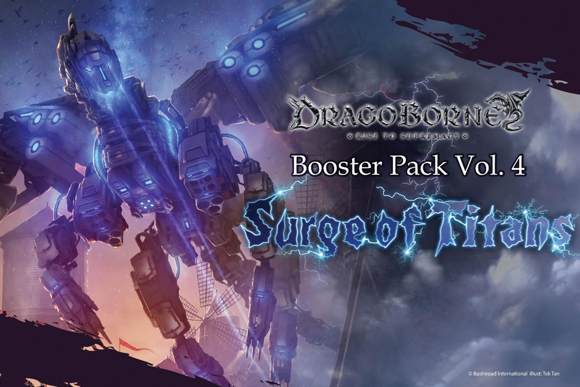 Dragoborne Tcg: Surge Of Titans Booster Display (20) Box Front
