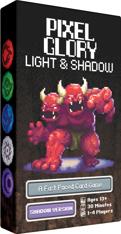 Pixel Glory: Shadow Box Front