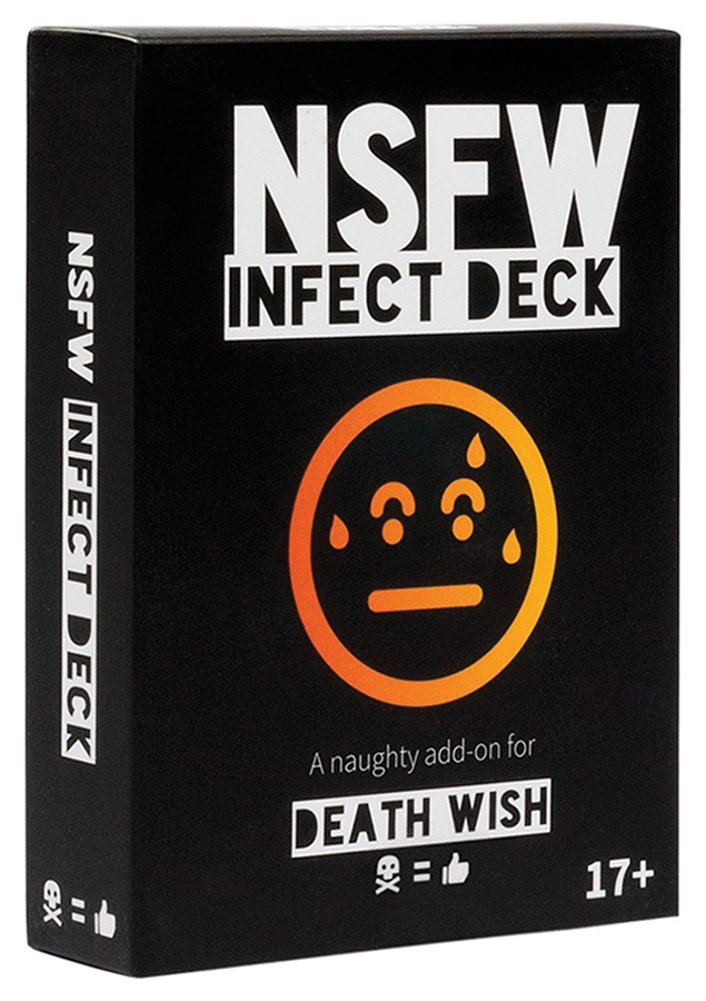 Death Wish: Nsfw Infect Deck Box Front