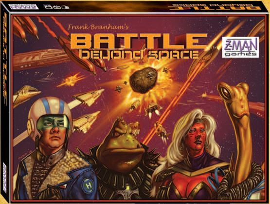 Battle Beyond Space Box Front