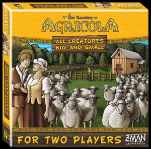 Agricola: All Creatures Big And Small 2-player Stand Alone Game Box Front