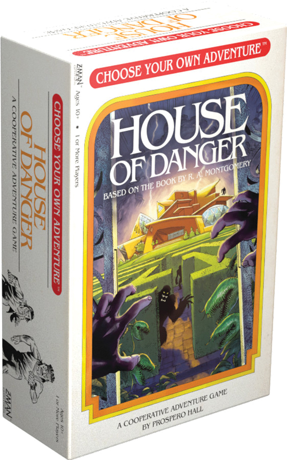 Choose Your Own Adventure: House Of Danger Box Front