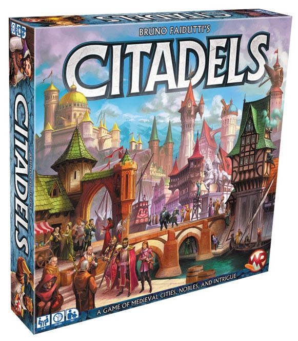 Citadels (2016 Edition) Box Front