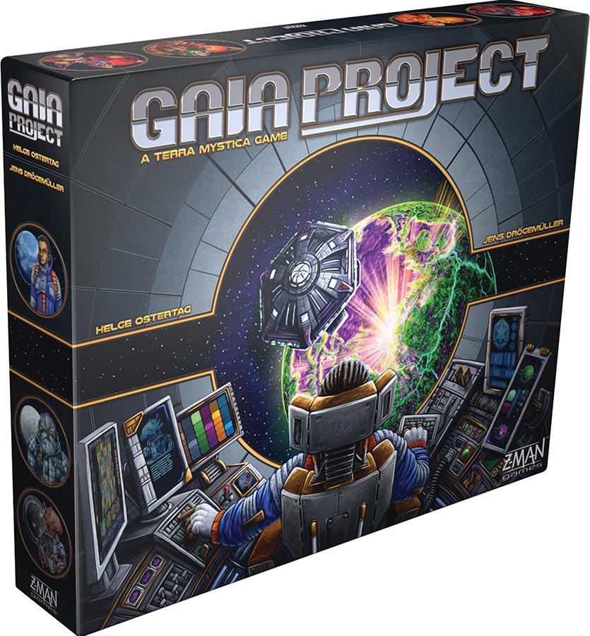 Gaia Project: A Terra Mystica Game Box Front