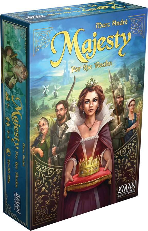 Majesty: For The Realm Box Front