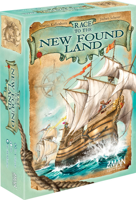 Race To The New Found Land Box Front
