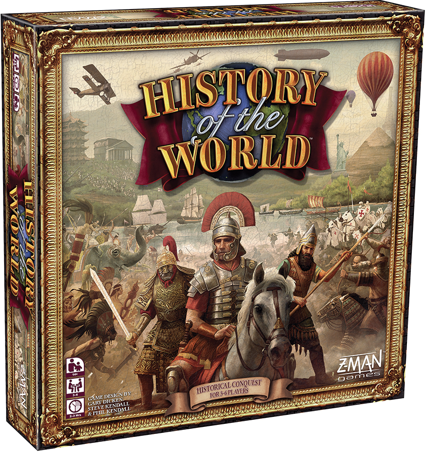 History Of The World Box Front