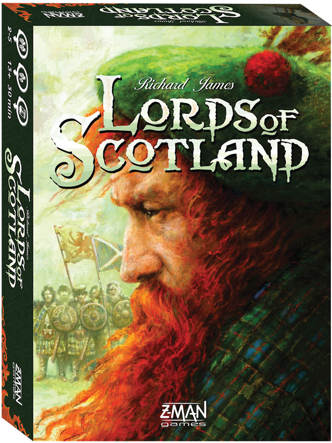 Lords Of Scotland Box Front