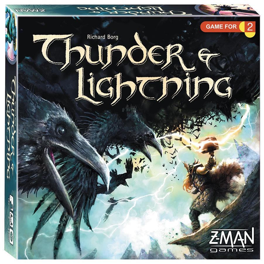 Thunder And Lightning Box Front