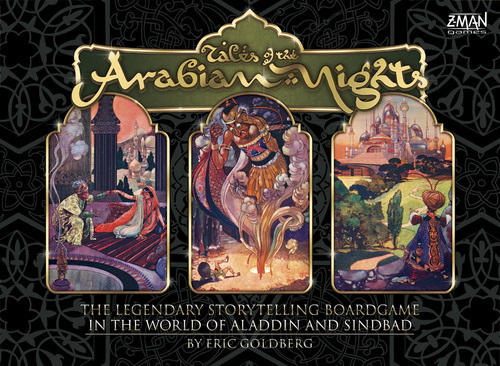 Tales Of The Arabian Nights Box Front