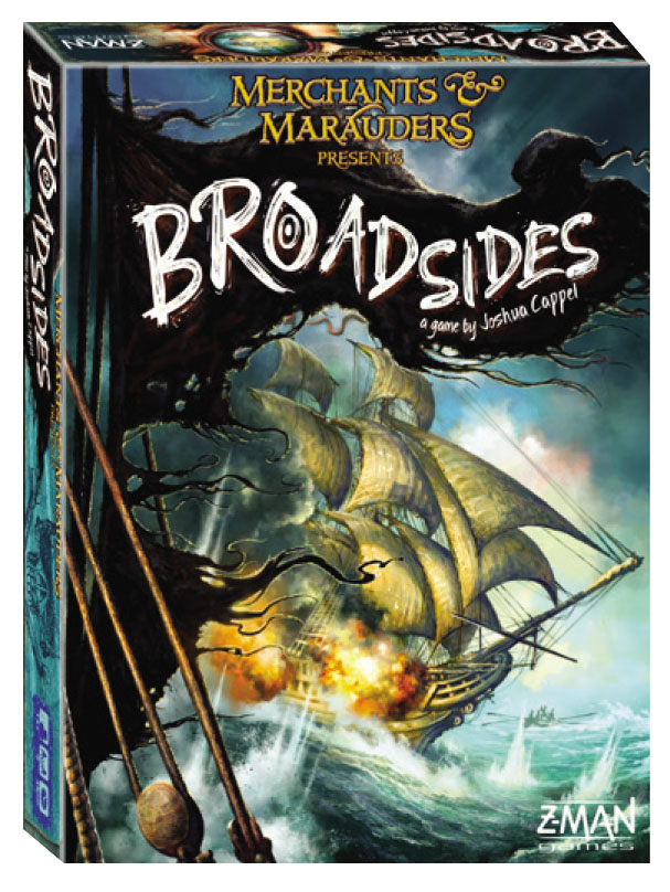 Merchants And Marauders: Broadsides (stand Alone) Box Front
