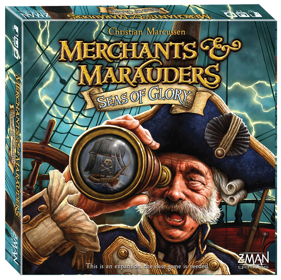 Merchants And Marauders: Seas Of Glory Expansion Box Front
