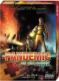 Pandemic: On The Brink Expansion Box Front