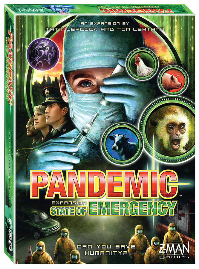 Pandemic: State Of Emergency Expansion Box Front