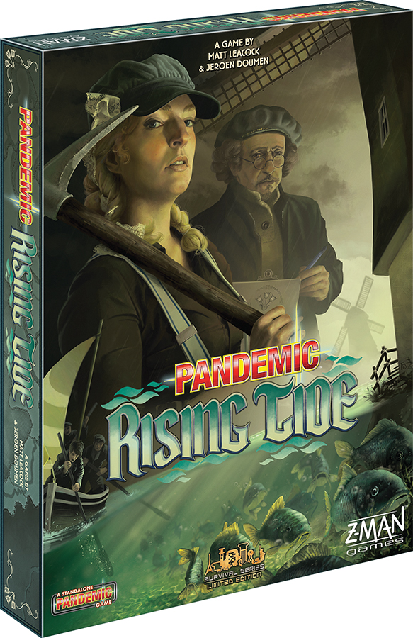 Pandemic: Rising Tide (stand Alone) Box Front