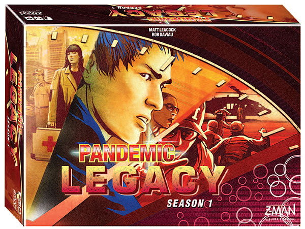 Pandemic: Legacy Season 1 - Red (stand Alone) Box Front