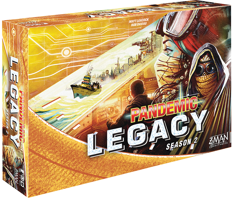 Pandemic: Legacy Season 2 - Yellow (stand Alone) Box Front