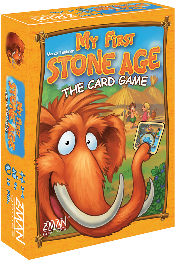 My First Stone Age: The Card Game Box Front