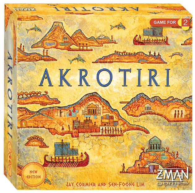 Akrotiri (revised Edition) Box Front