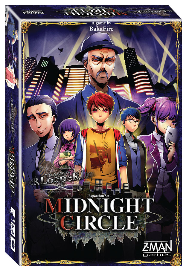 Tragedy Looper: Midnight Circle Expansion Box Front