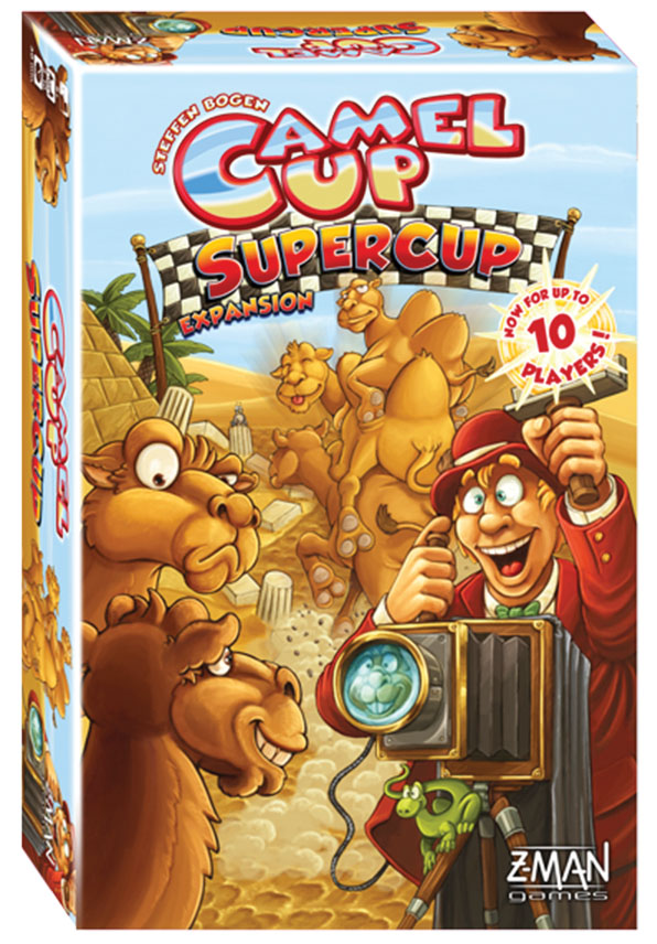 Camel Up: Super Cup Expansion Box Front