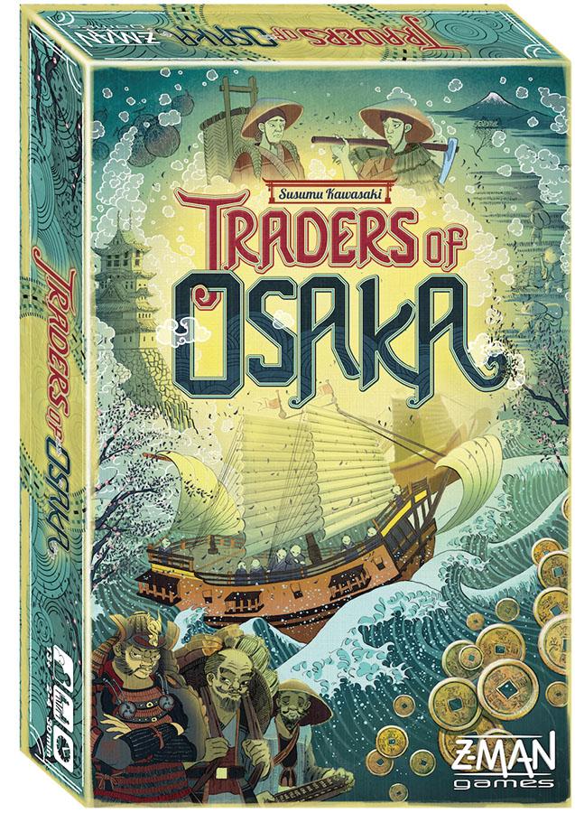Traders Of Osaka Box Front