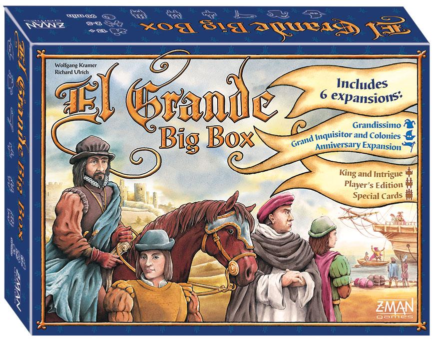 El Grande: Big Box Box Front