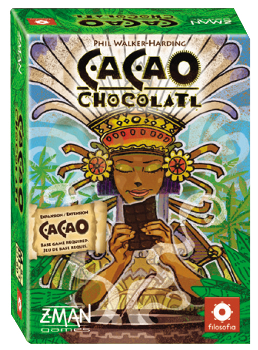 Cacao: Chocolatl Expansion Box Front