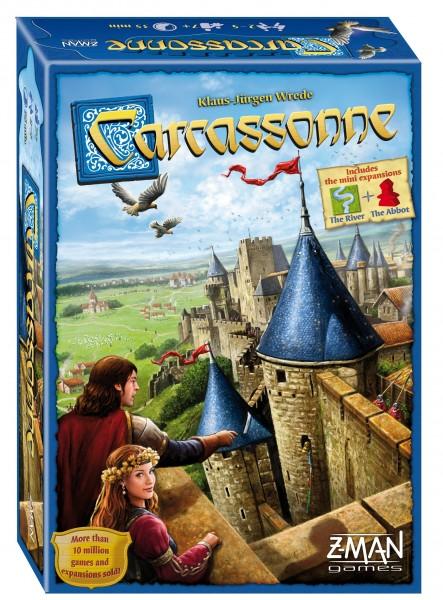 Carcassonne: Basic Game Box Front