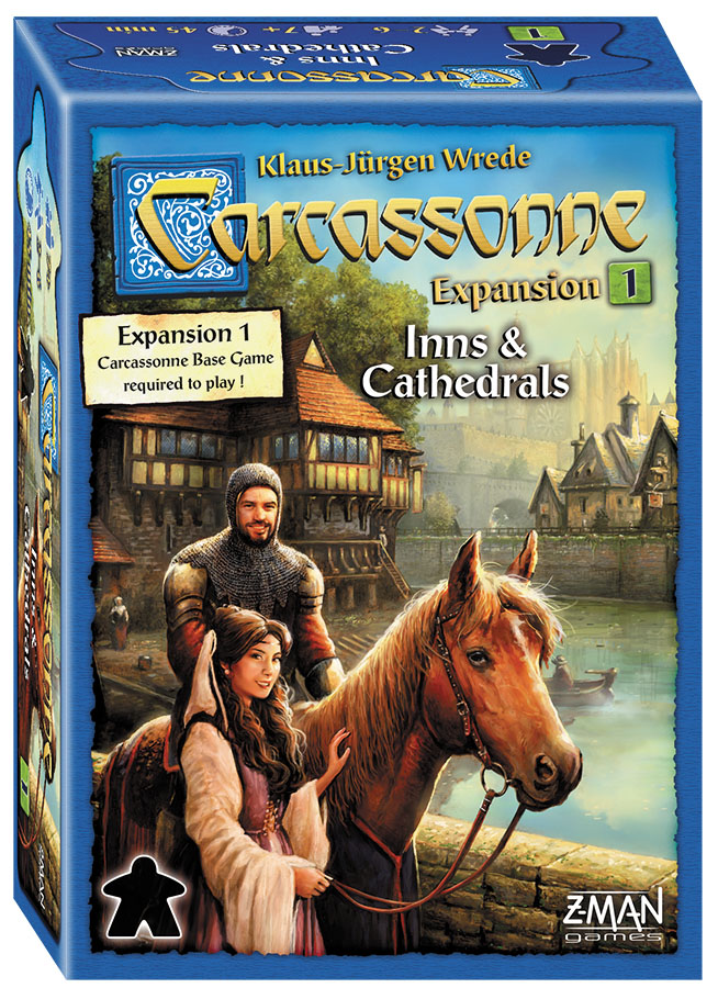 Carcassonne: Expansion 1 - Inns And Cathedrals Box Front