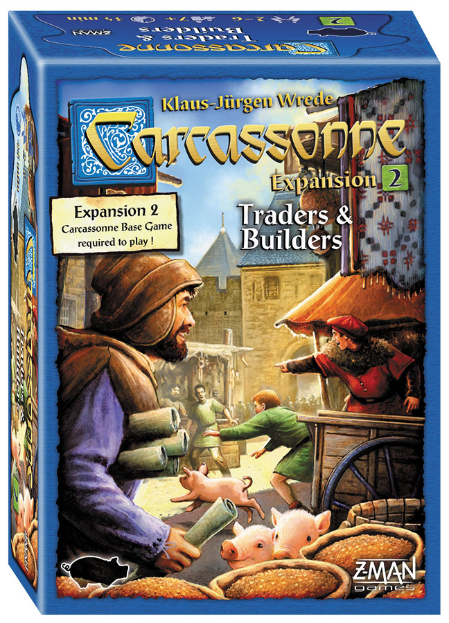 Carcassonne: Expansion 2 - Traders And Builders Box Front