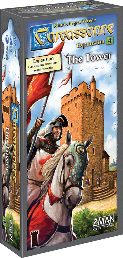 Carcassonne: Expansion 4 - The Tower Box Front