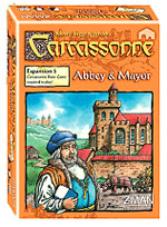 Carcassonne: Expansion 5 - Abbey And Mayor Box Front