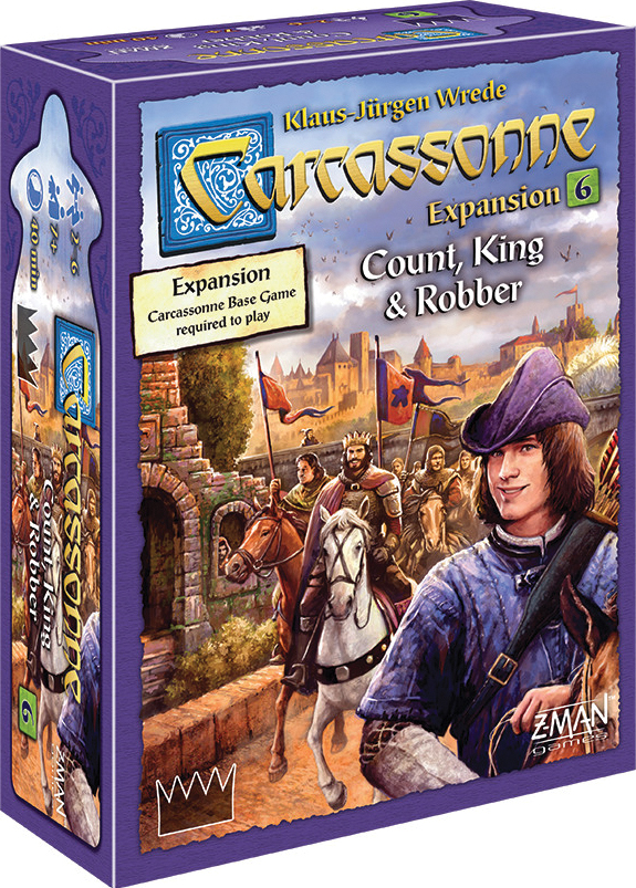 Carcassonne: Expansion 6 - Count/king/robber Box Front