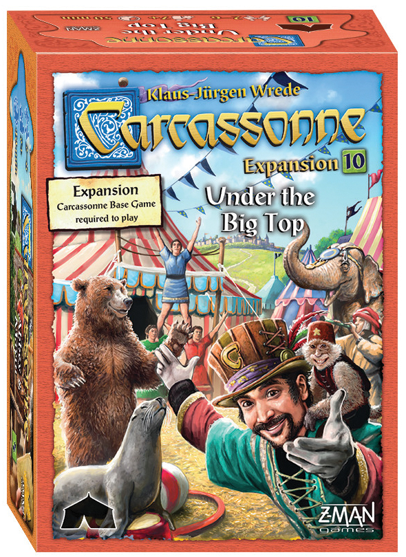 Carcassonne: Expansion 10 - Under The Big Top Box Front