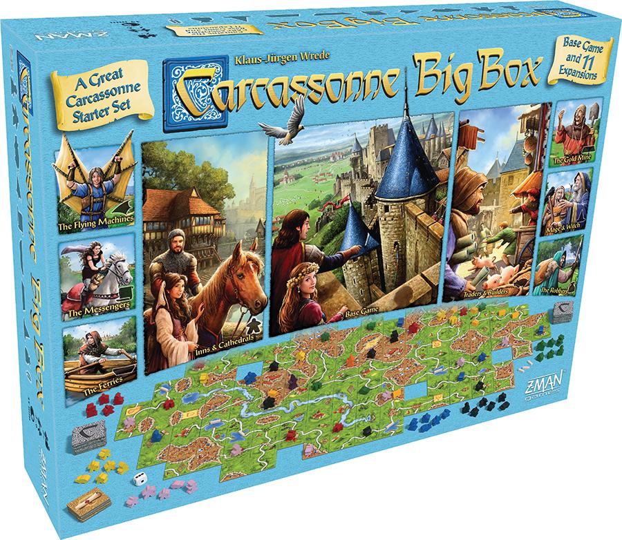 Carcassonne: Big Box 2017 Box Front