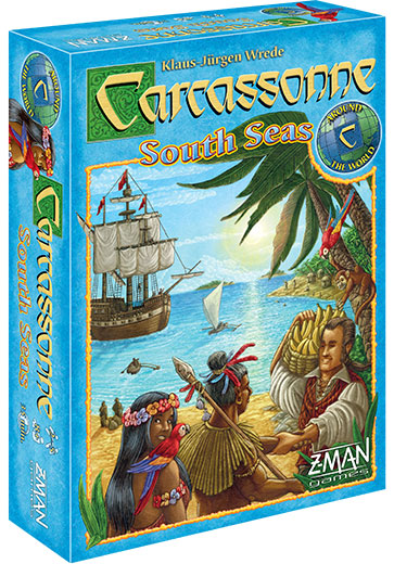 Carcassonne: South Seas (stand Alone) Box Front