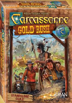 Carcassonne: Gold Rush (stand Alone) Box Front