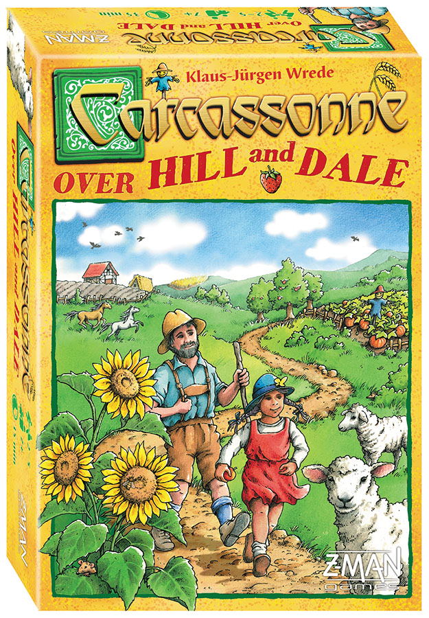 Carcassonne: Over Hill, Over Dale (stand Alone) Box Front