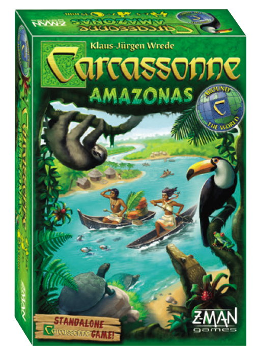 Carcassonne: Amazonas (stand Alone) Box Front