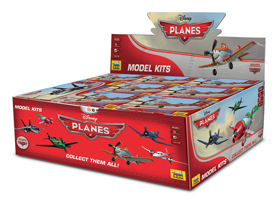 Planes: Display Assortment Box Front
