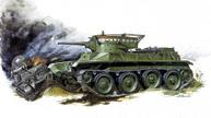 Soviet Light Tank Bt-5 Box Front
