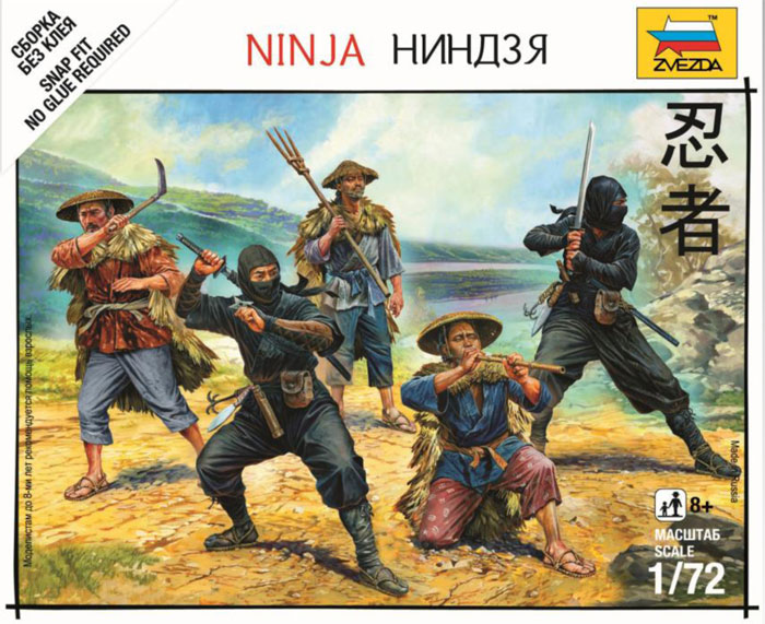 Ninja Box Front