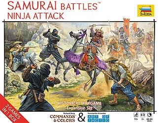 Samurai Battles Ninja Attack Box Front