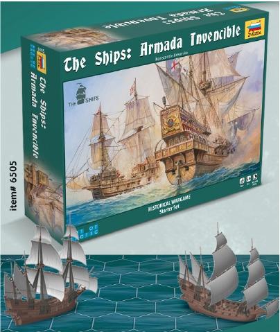 The Ships: Armada Invencible Box Front