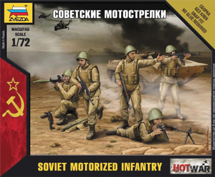 Hot War: Soviet Motorized Infantry Box Front