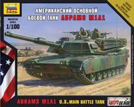Hot War: American M1a1 Abrams Tank Box Front