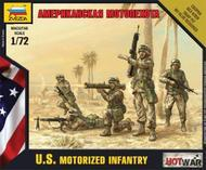 Hot War: American Motorized Infantry Box Front